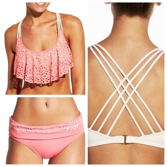 1e22303e5e2c8 CALIA by Carrie Underwood Swim   New Bikini Top Bottom Xl   Poshmark